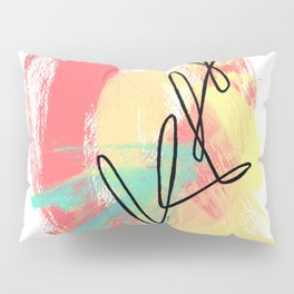 Abstract Modern Minimal - Where Is Your Passion series no.4 Pillow Sham