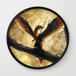 Archaeopteryx Lithographica Commission Wall Clock