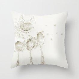 Sugar Sugar Throw Pillow