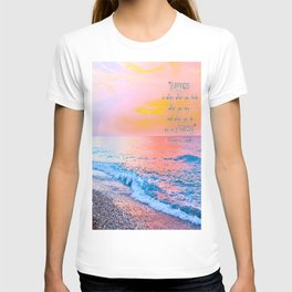 Happiness Quote Mahatma Gandhi T-shirt