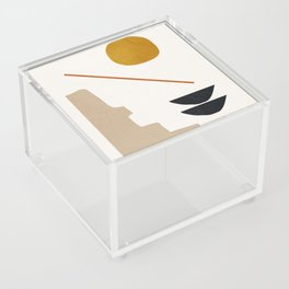 abstract minimal 6 Acrylic Box