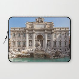Trevi Fountain at early morning - Rome, Italy Laptop Sleeve