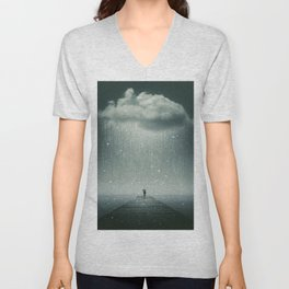 Weathering the Storm Unisex V-Neck