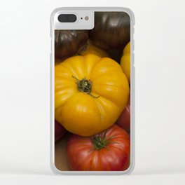 Heirloom Tomatoes Clear iPhone Case