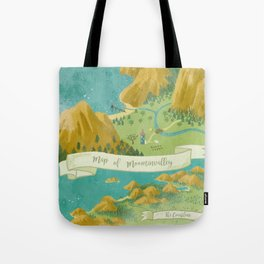 Moominvalley Map Interpretation (1/3) Tote Bag