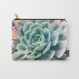 Pastel Succulent 2 Carry-All Pouch