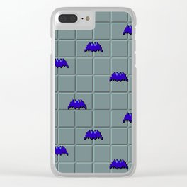 Bats in the Dungeon Clear iPhone Case
