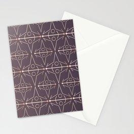 Charcoal Mythology Textile Stationery Cards