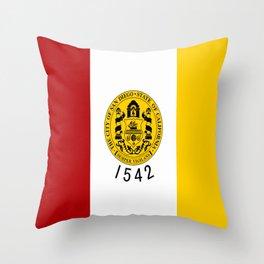 flag of San Diego Throw Pillow