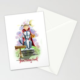 Red Riding Hood 2 Stationery Cards