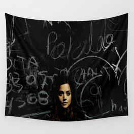 A Mystery Wrapped in an Enigma Wall Tapestry