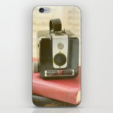 Vintage Brownie Camera iPhone & iPod Skin