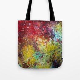 Dark Rainbow Tote Bag