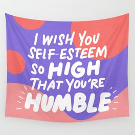 so high Wall Tapestry