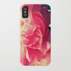 Peony Love Slim Case iPhone X