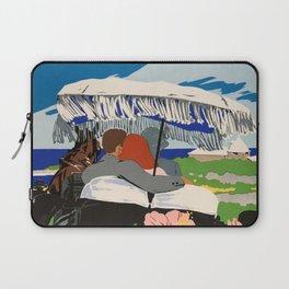 Romantic Bermuda travel Laptop Sleeve