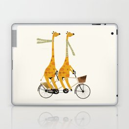 lets tandem giraffes Laptop & iPad Skin