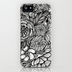 Peony Fascination Slim Case iPhone SE