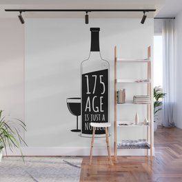 Age is just a number Wall Mural
