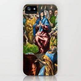 """El Greco (Domenikos Theotokopoulos) """"Pentecost"""" iPhone Case"""
