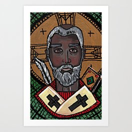 Augustine of Hippo Art Print