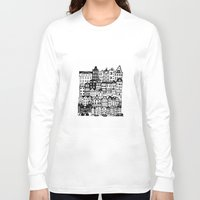amsterdam Long Sleeve T-shirts featuring Amsterdam by Sol Fernandez