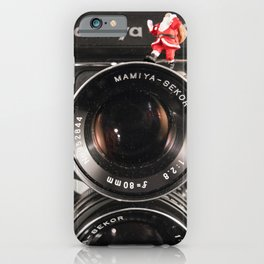 Twin Lens Xmas iPhone Case