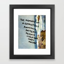 Composition 495 Framed Art Print