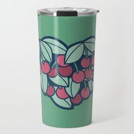 Heart of a Cherry Picker Travel Mug