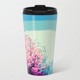 Mod trEes. Pink Purple Blue Travel Mug