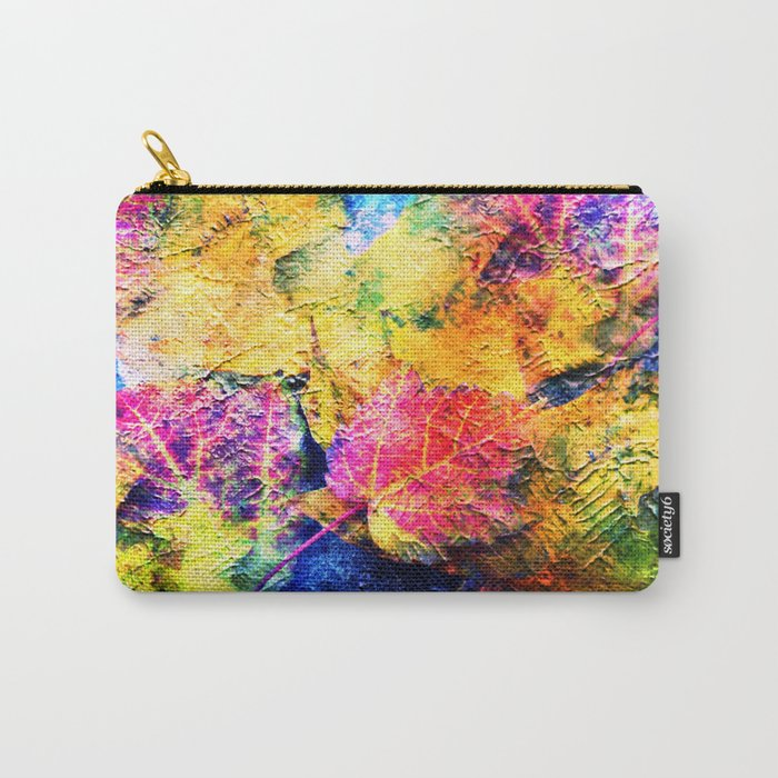 Fall Leave Abstract Carry-All Pouch