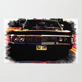 Impala multicolored (Supernatural) Rug