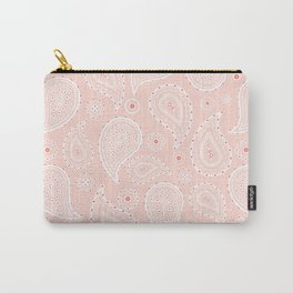 Paisley Pattern Carry-All Pouch