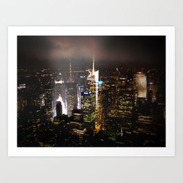Times Square Lights (NY) Art Print
