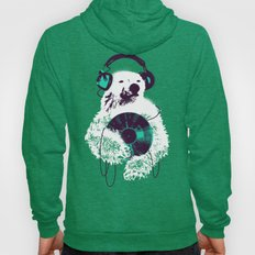Record Bear Hoody