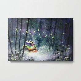 Firefly Princess Metal Print