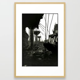 Packard Plant Framed Art Print