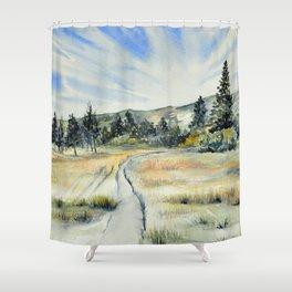 Verdi Glen Shower Curtain