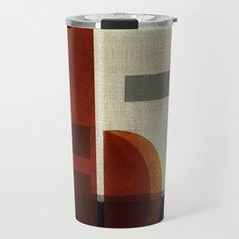 """""""Abstract Ships at Sunset"""" Travel Mug"""