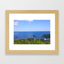 Mount Battie Framed Art Print