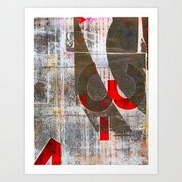 Three Negative Art Print