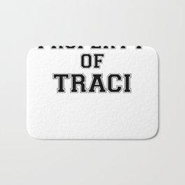 Property of TRACI Bath Mat