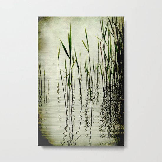 Mystery Lake Metal Print