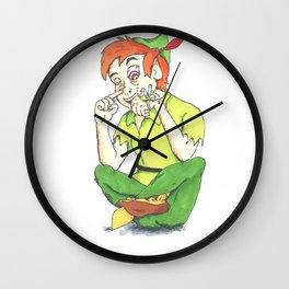Faith and trust and pixie dust Wall Clock