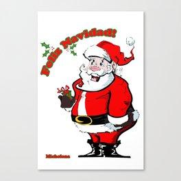 Feliz Navidad  Canvas Print