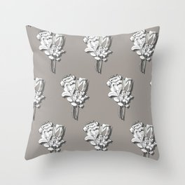 Fanciful Garden - Bouquet Throw Pillow