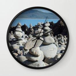 Zen Moments 02 Wall Clock