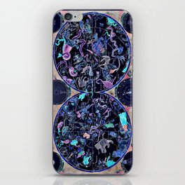Vintage Celestial Map iPhone Skin