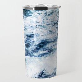Ocean Waves: A Power Greater Than Me Travel Mug