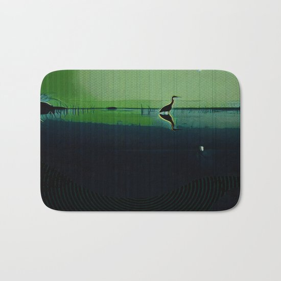 Marsh in Spring Bath Mat